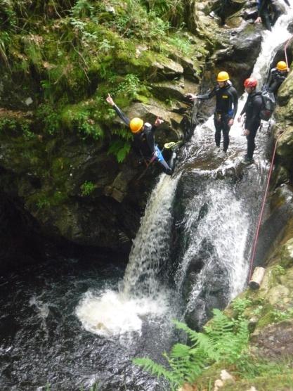 Canyoning au Mont-Dore