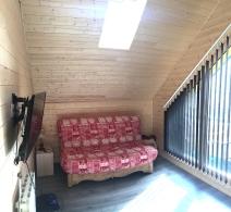 Chambre Mathusalem - canapé lit en 160
