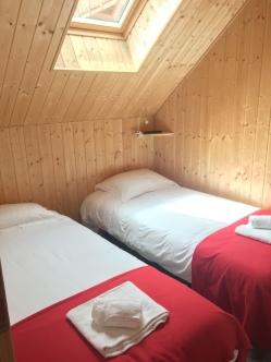 Chambre Capucin - 2 lits jumeaux en 90